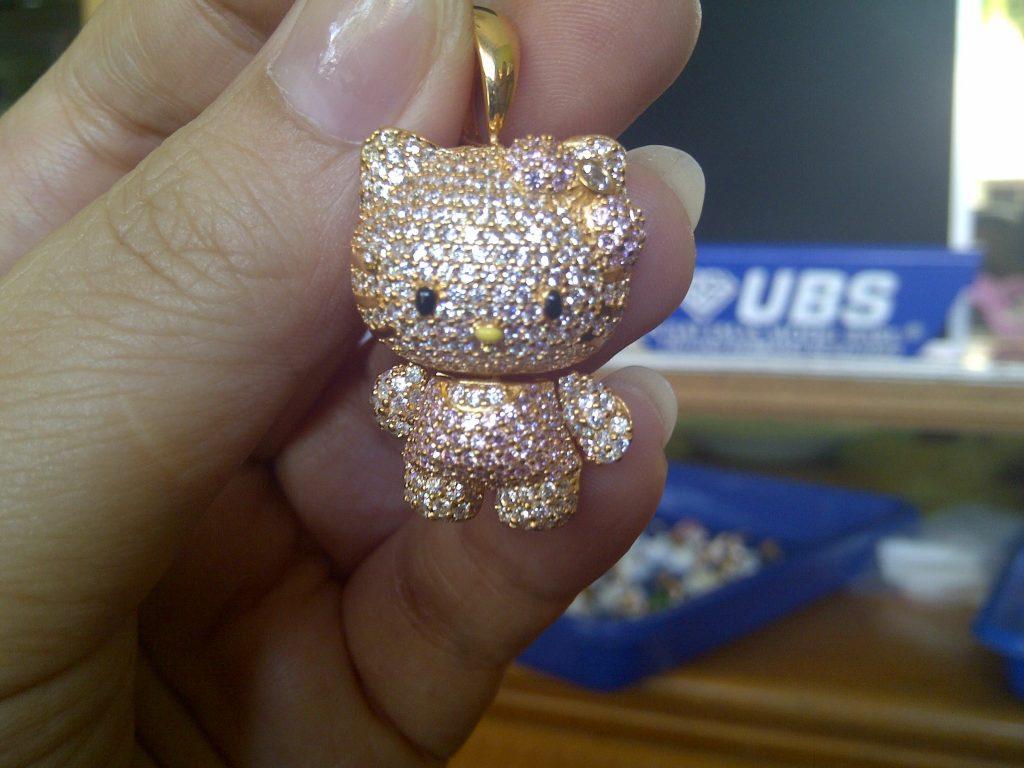 Elegant Lovely And Sweet Swarovski Hello Kitty Collection
